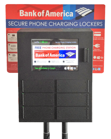 Cell Phone Charging Station Features Safecharge