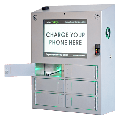 Secure Cell Phone Charging Stations U0026 Lockers | SafeCharge